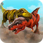 Jurassic Run Attack - Dinosaur Era Fighting Games Icon