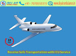 Avail ICU Air Ambulance Service in Raipur at Low-Cost by Sky