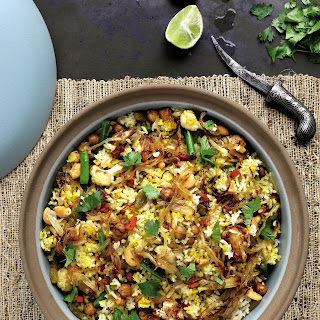 One-Pot Chickpea Biryani