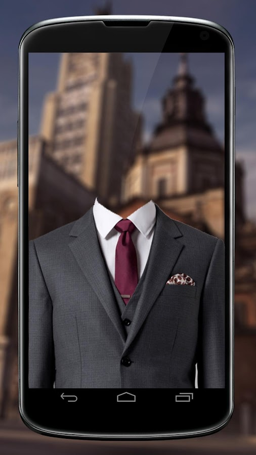 Man Suit Camera- screenshot