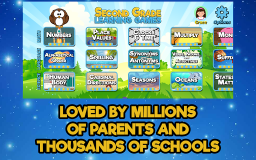 Second Grade Learning Games modavailable screenshots 4