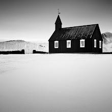 Photo: The Black Church - Iceland 2011