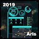 Futuristic Launcher -- Aris Theme Android apk