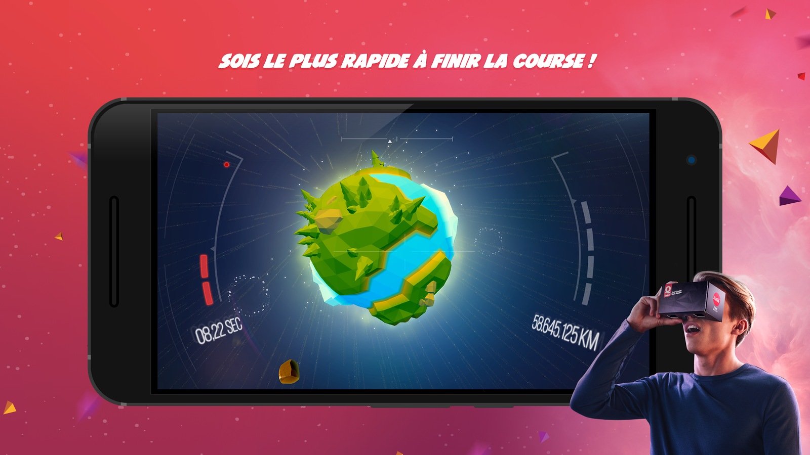 Space Drive-In – Capture d'écran