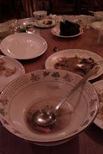 Photo: 被我們喝得一乾二淨的蝙蝠湯