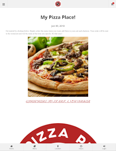 My Pizza Place Ordering- screenshot thumbnail
