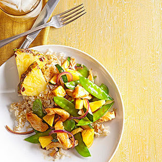 Pineapple-Chicken Stir-Fry