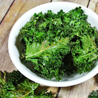 Crunchy Kale Chips Recipe