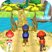 Paw Pups - Puppy Patrol Jungle Run Android APK Download Free By High Speed Studios