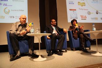 Photo: Paul Holmes, Mohamed Al Ayed, Nettie Buitelaar - HR/CEO vs PR (who should run internal/employee comms?) Debate - 2012