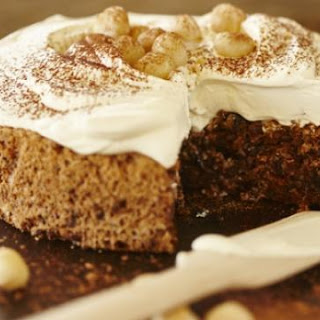 Macadamia, Date And Chocolate Torte
