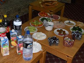 Photo: Premier repas