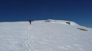 Photo: le sommet arrive !!!