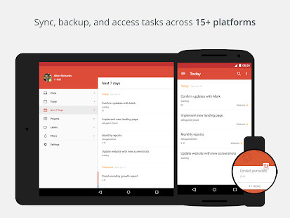 Todoist: To-Do List, Task List - screenshot thumbnail