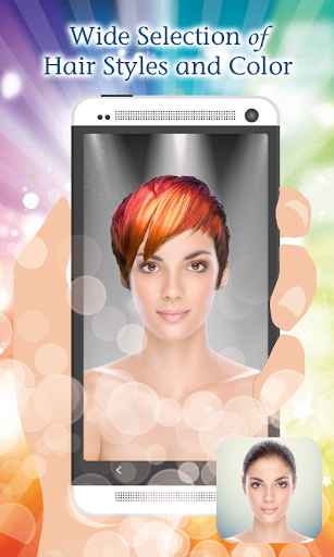 Hairstyle Color Montage Maker