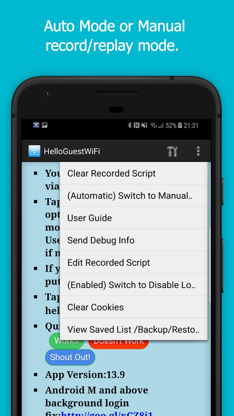 WiFi Web Login Screenshot 2