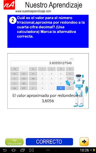 Nu00fameros Irracionales Aproximar 1.0.0 screenshots 7