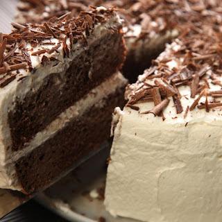 Tres Leches de Ron con Chocolate (Chocolate Rum Tres Leches Cake)
