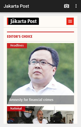 The Jakarta Post Mobile app (apk) free download for Android/PC/Windows screenshot
