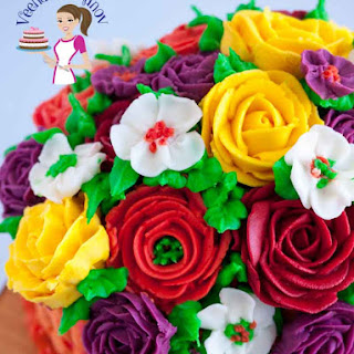 The Best Stiff Buttercream Frosting Recipe for Piping Flowers Recipe