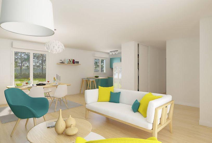 Vente Terrain + Maison - Terrain : 822m² - Maison : 92m² à Mesnil-Raoul (76520)
