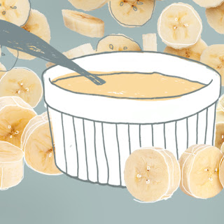 Banana Cream Breakfast Custards.