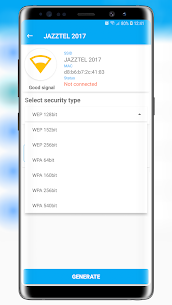 Free Wifi Password Key Generator Mod 1.0.4.3 Apk [Unlocked] 4