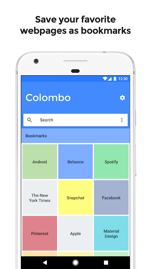 Colombo - Multitasking Browser- screenshot