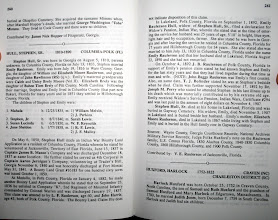 Photo: Caleb and Unicy Info under Stephen Hull!  / Zoom in to read