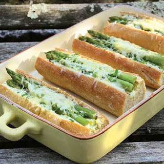 Baguette Sandwiches with Asparagus