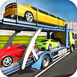 Car Transporter Cargo Truck Driving Game 2018