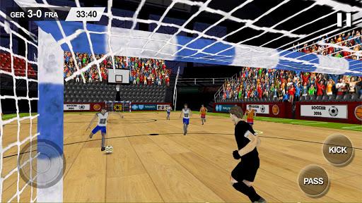 Indoor Soccer Game 2016
