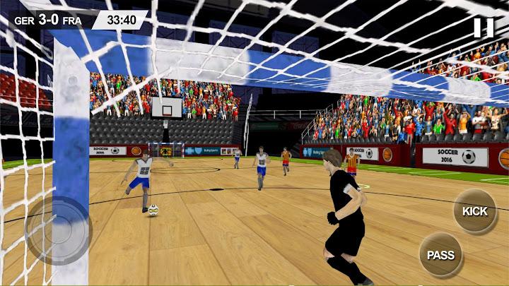 Indoor Soccer Game 2017 Android App Screenshot