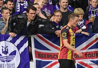 Het voetbalschandaal dat boven KV Mechelen - Beerschot Wilrijk hing zorgde voor een steekspel tussen de fans