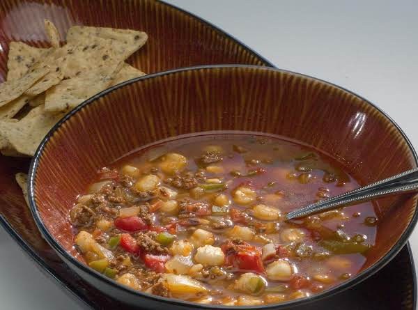 Spicy Venison And Hominy Soup Recipe