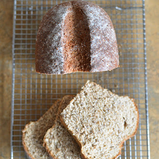 Whole-Wheat, Flax, and Hemp Heart Bread