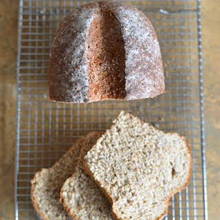 Whole-Wheat, Flax, and Hemp Heart Bread.