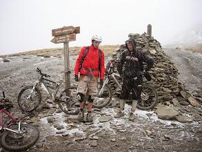 Photo: Sous la neige du Col Vieux