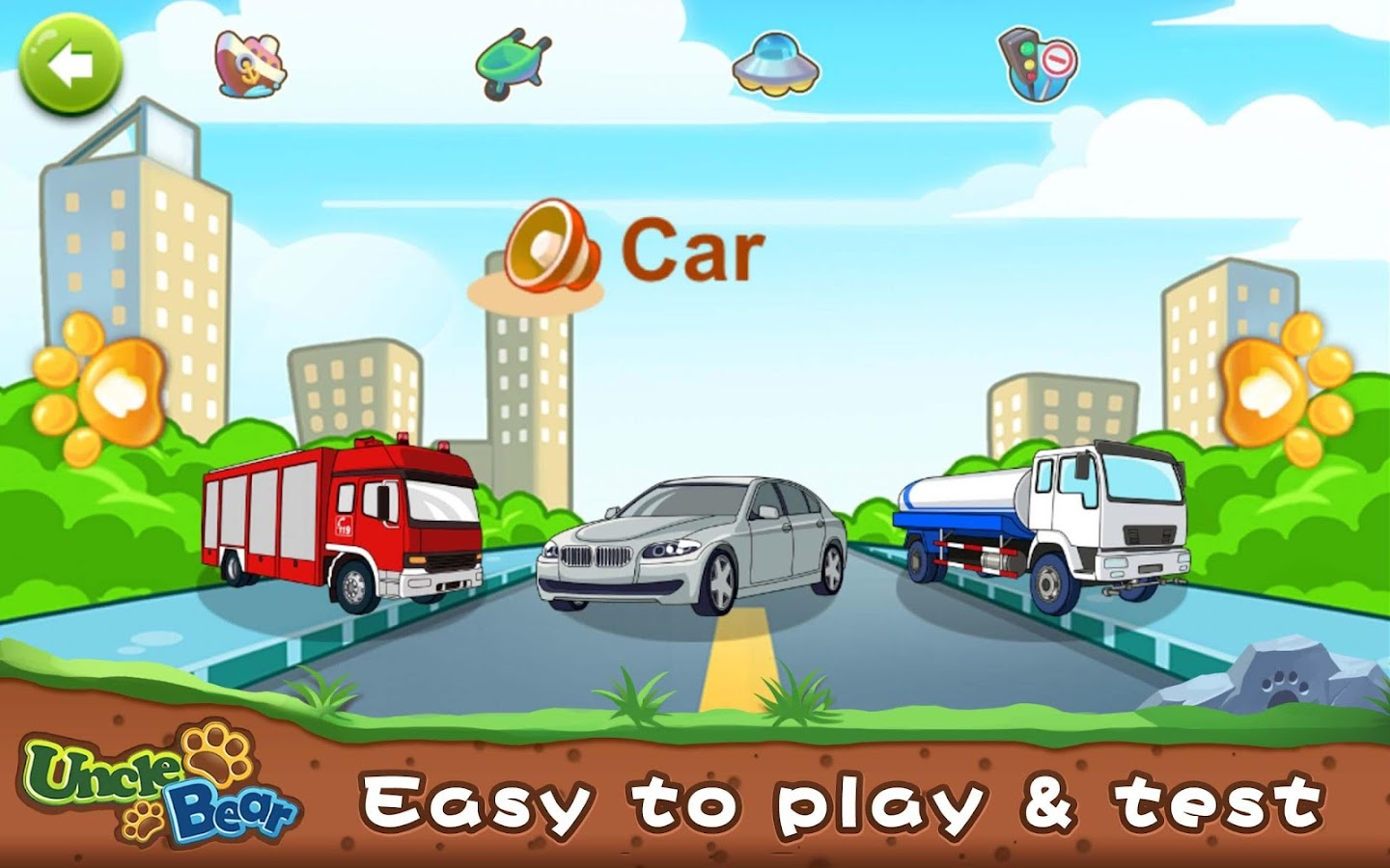 Kids Puzzle: Vehicles- screenshot