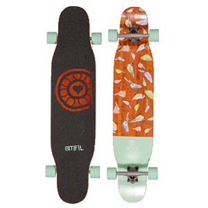 BTFL Longboard West Site Boardshop Gent