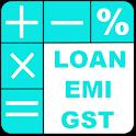 Loan emi calculator & GST calculator icon