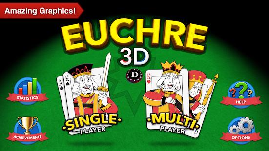 Euchre 3D - náhled