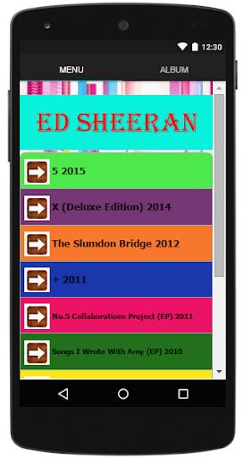 Ed Sheeran Complete Lyrics