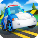 Funny police games for kids icon