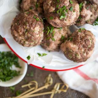 Emergency Meatballs.