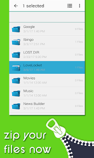 File Manager : WinZIP-WinRAR File Explorer - náhled