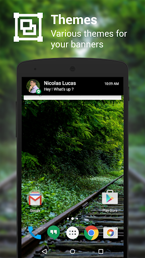 NotifierPro Heads-up para Android