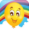 Baby Touch Balloon Pop Game icon