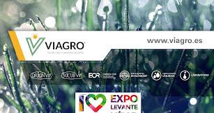 Cartel promocional de la presencia de Keops Agro en Expolevante.