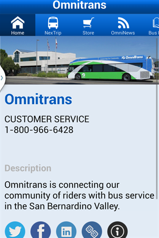 Omnitrans- screenshot
